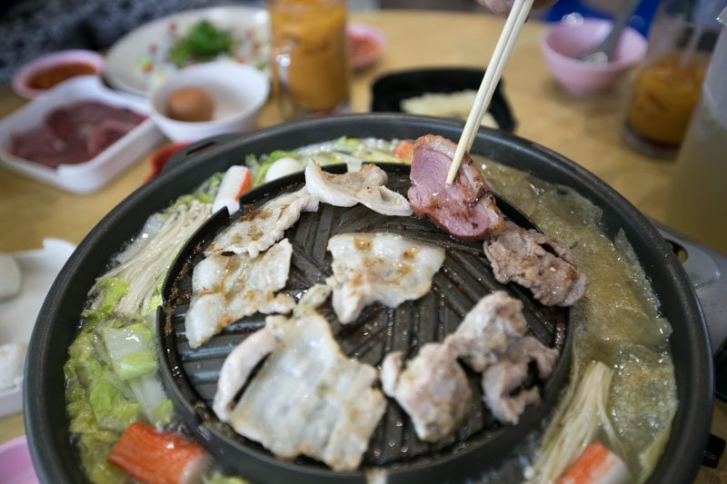 Stunning And Genuine Little Mookata Steamboat Style at Meat Junior